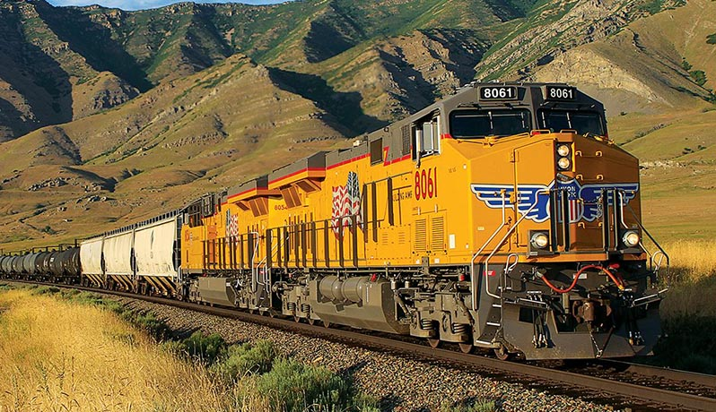 Union Pacific a echipat peste 90% din locomotivele sale cu sistemul Positive Train Control