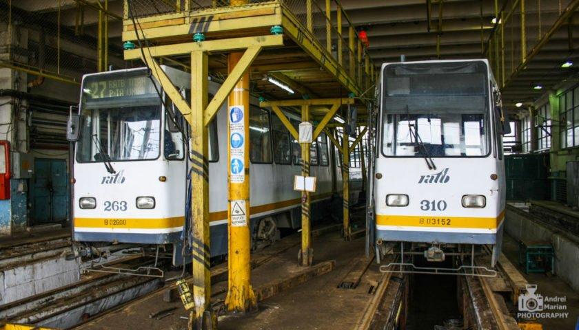 STB SA reconstruiește canalele de revizii din depourile de tramvaie Colentina și Titan